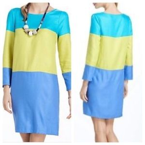 Anthropologie Maeve Color Block Dress